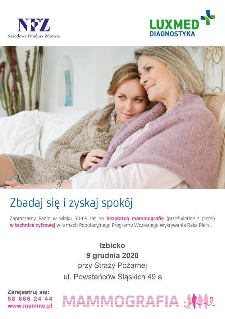 Mammografia w Izbicku - 9.12.2020 r..jpeg