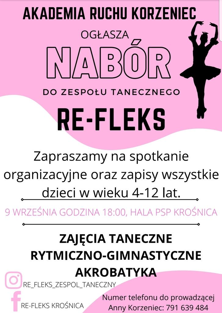 Nabór do Akademii Ruchu Korzeniec - plakat - 09.09.2021 r..jpeg