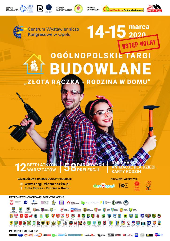 Ogólnopolskie Targi Budowlane - Złota Rączka - Rodzina w Domu - 14-15.03.2020 r..jpeg