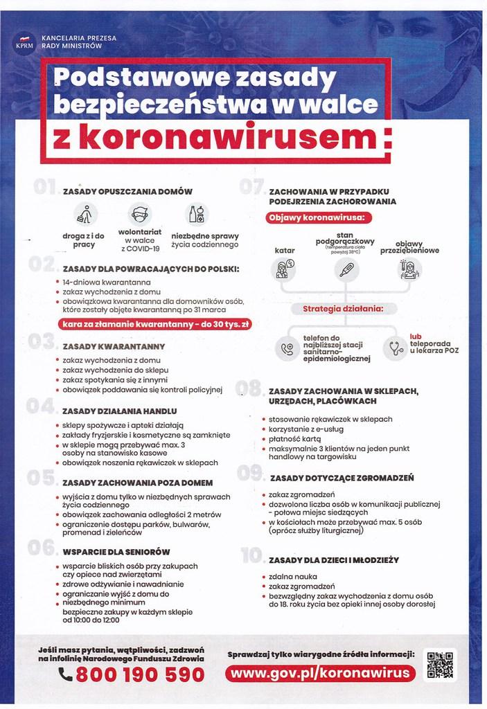 Podstawowe zasady bezpieczeństwa w walce z koronawirusem - plakat.jpeg