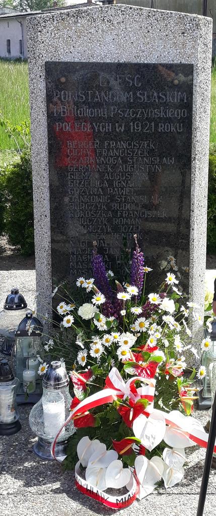 Pomnik Powstańców Śląskich I Batalionu Pszczyńskiego w Siedlcu.jpeg