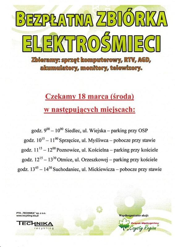 Zbiórka Elektrośmieci - 18.03.2015r..jpeg