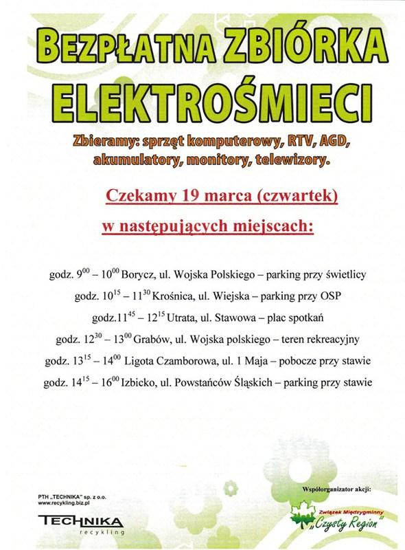 Zbiórka Elektrośmieci - 19.03.2015r..jpeg